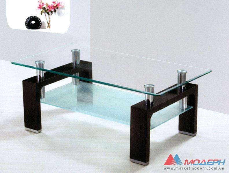 Журнальный столик из стеклам